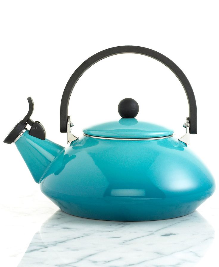Le Creuset Enameled Steel Zen Tea Kettle - Coffee, Tea & Espresso - Kitchen - Macy's
