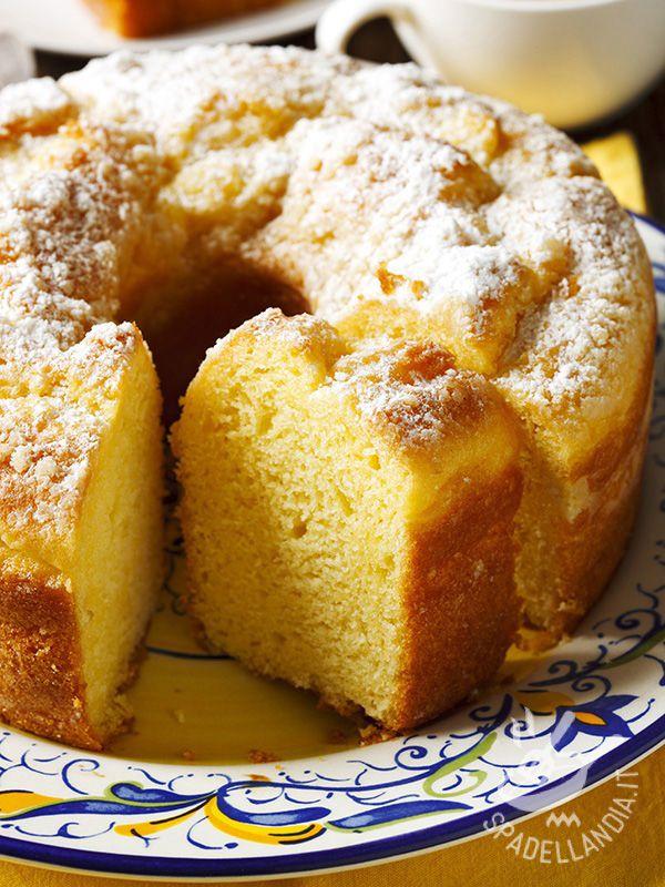 La Ciambella soffice allo yogurt e limone: un dessert della tradizione, semplice, veloce e molto genuino. Con il classico sapore dei dolci della nonna!