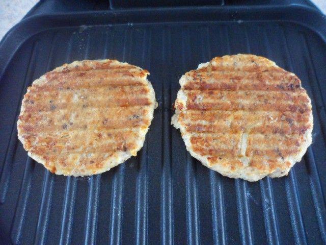Lowfat salmon patties george foreman grill recipe for George foreman grill fish