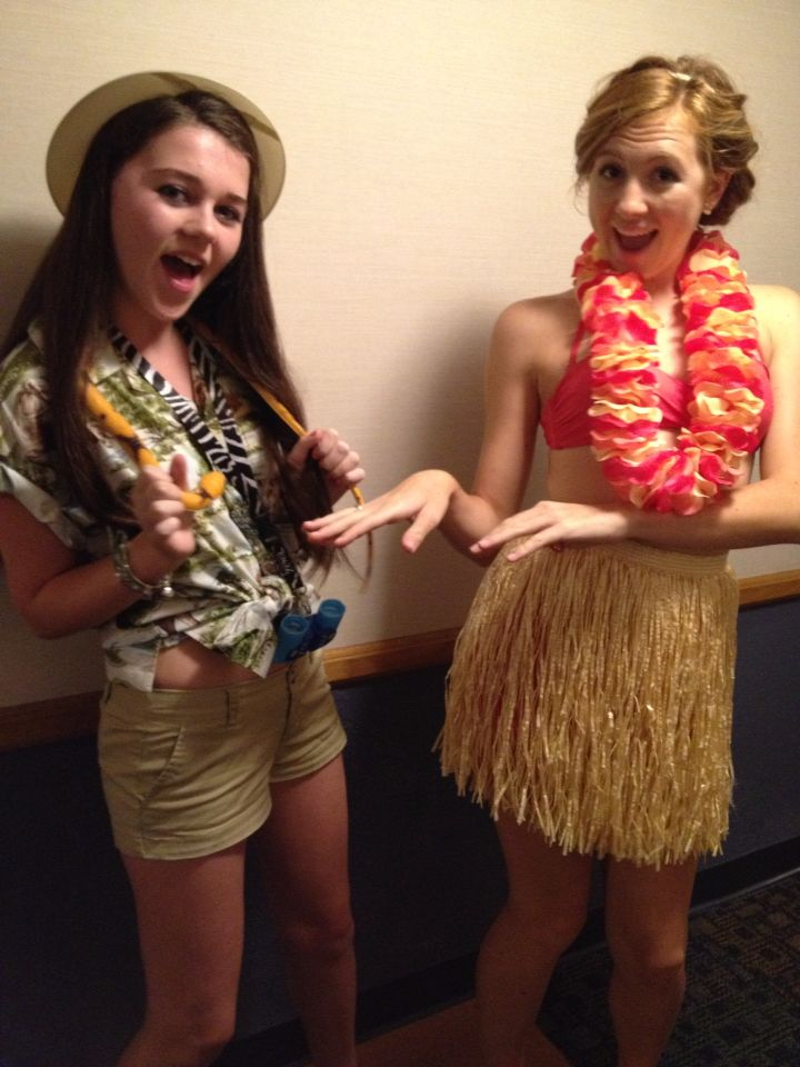 how to make a lilo hula costume