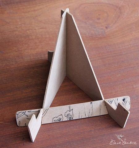 Soporte para libros de madera accesorios para leer - Manualidades con madera ...