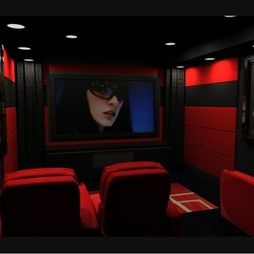 lighting ideas ceiling basement media room. I Love The Can Lights In Ceiling And Carpet. Media Room Red Design Lighting Ideas Basement U