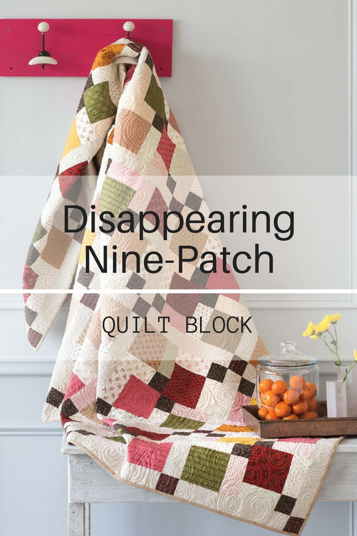 12 best block friday quilt blocks images on pinterest quilt block friday disappearing nine patch fandeluxe Image collections