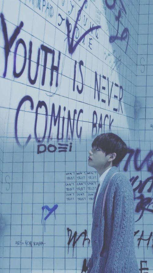 BTS    RUN Japanese ver.    V wallpaper for phone