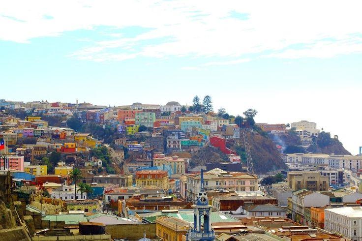 Les couleurs de Valparaiso : Les plus belles merveilles d'Amérique Latine
