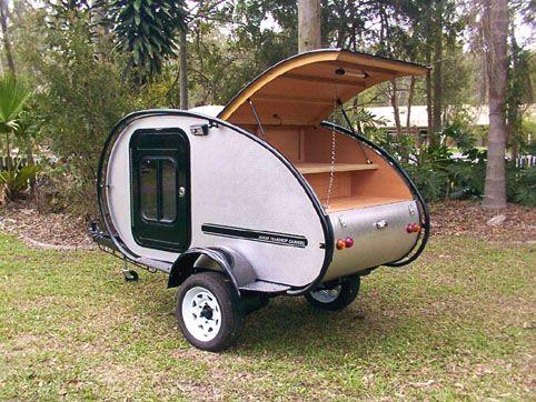 Off Road Teardrop Camper