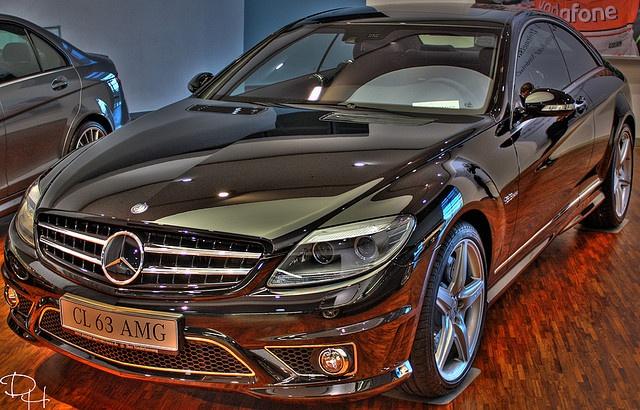 Mercedes CL 63 AMG HDR by ART DODA , via Flickr