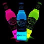 Cool Glow Bottle Collars (6 per pack! ) ... not the beverage! Just the glow effect!!