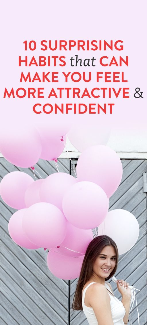 habits that make you feel more confident
