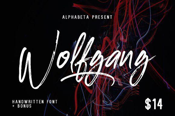 Wolfgang by Alphabeta on @creativemarket