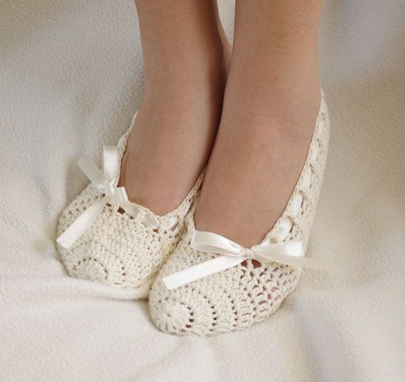 Bridal wedding dance shoes slippers Cream and pink  by yagmurshop, $25.00