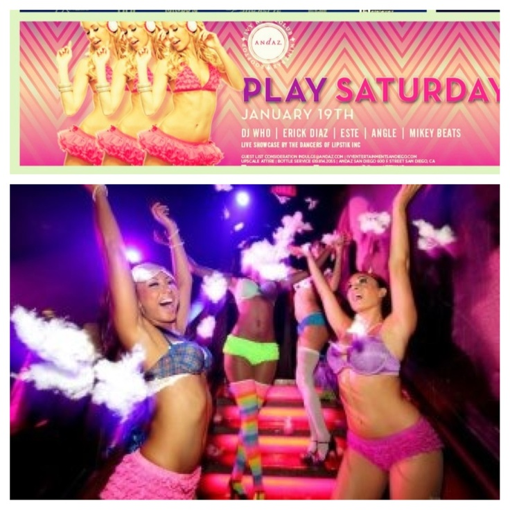Play Saturdays! Every Saturday Ivy Nightclub. Www.lipstikinc.com book your next event