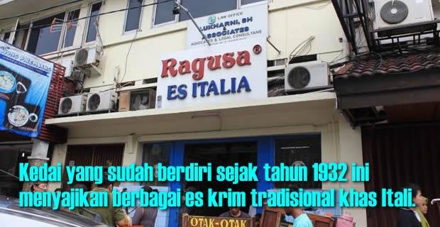Nongkrong di Ragusa, Serasa di Italia