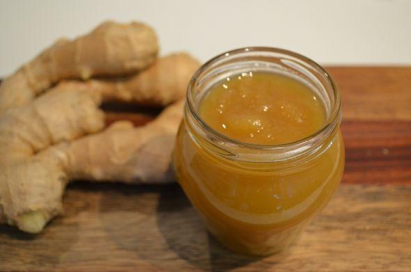 Сируп од ѓумбир и мед