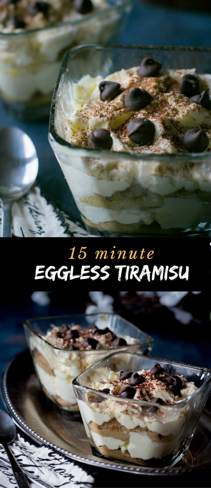 You'll enjoy making this Tiramisu without raw eggs since 15 minutes is all it takes.   via @simmertoslimmer