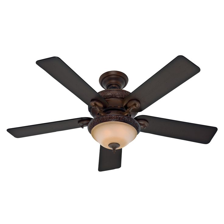 Hunter Ashbrook 48 Brushed Cocoa Ceiling Fan With Light: 17 Best Ceiling Fans Images On Pinterest