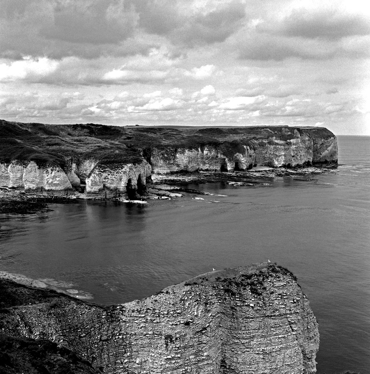 Sea by Keith Moss. #sea #cliffs #film #ilford #keithmoss http://keithmoss.co.uk