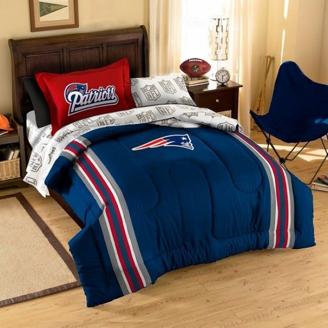 nfl new england patriots football bedding sets from