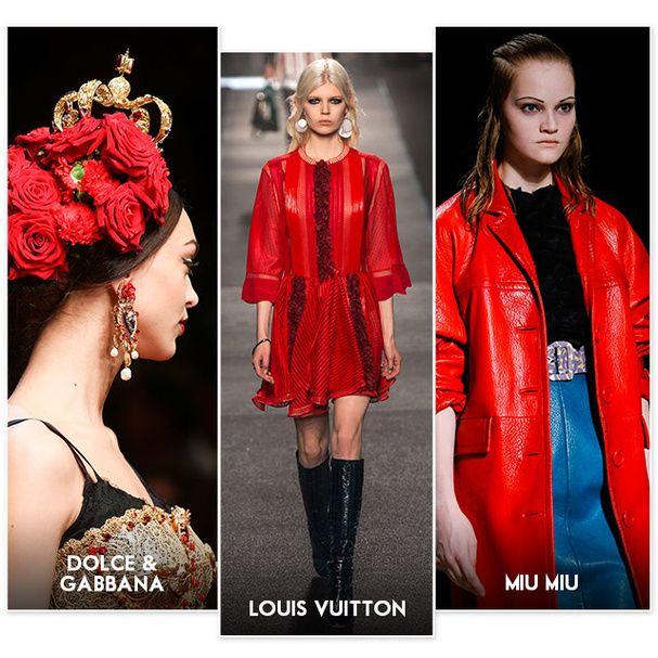 Tendance n°24 : rouge passion