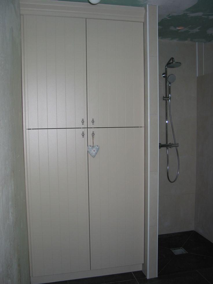 Kast voor wasmachine en wasdroger