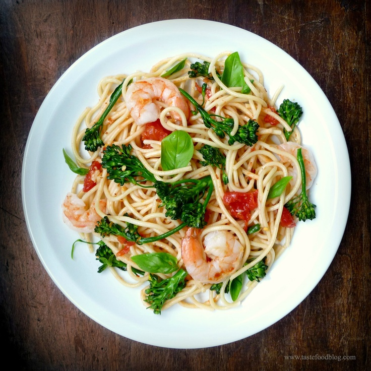 broccoli shrimp pasta | pasta dishes | Pinterest