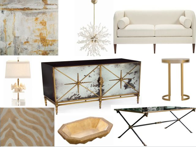 Beth Woodson and Kristy Woodson Harvey of Design Chic arrange What's New in Neutrals