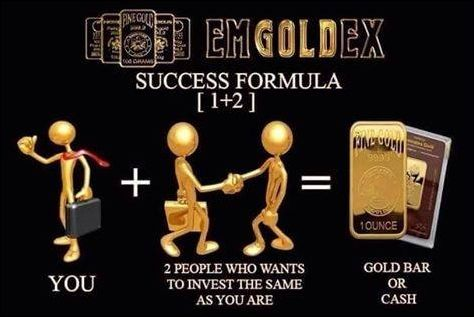 Success formula we must apply in this Gold business.