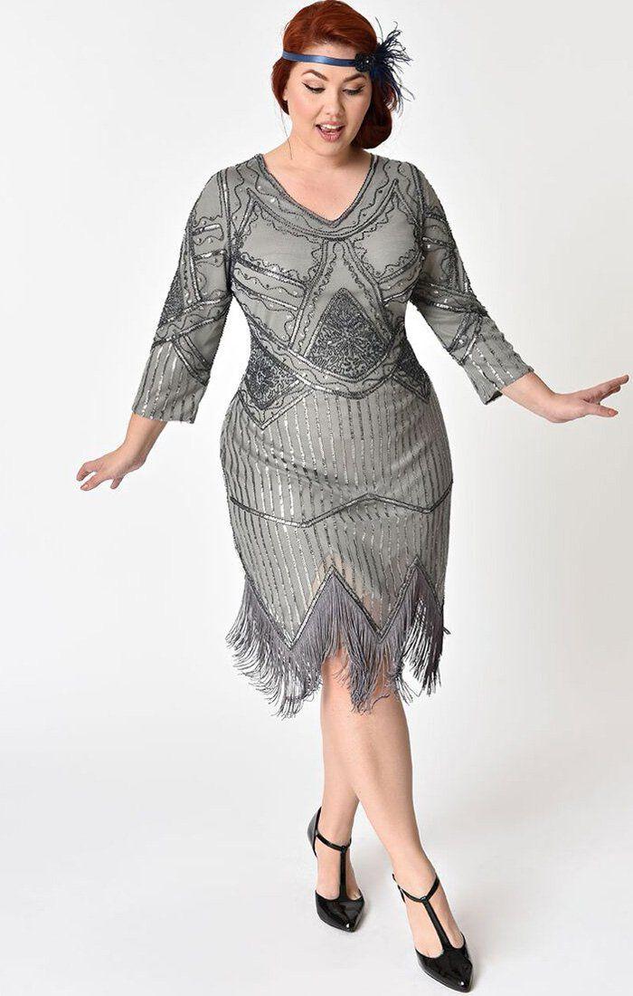 1920\'s Beaded Flapper Dress-Noemie | The Wardrobe in 2019 ...