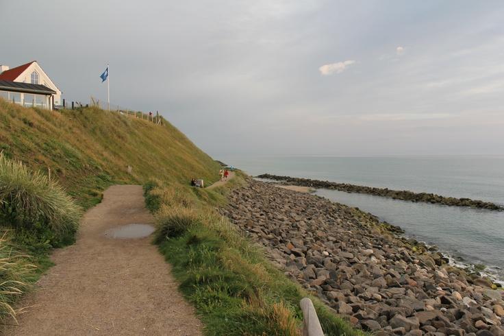 Also from the beach i Lønstrup