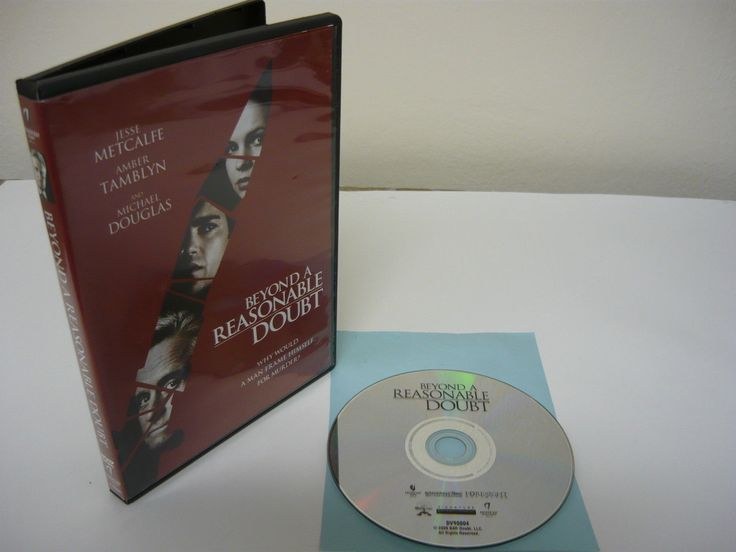 Beyond a Reasonable Doubt DVD WIDESCREEN Action Adventure Movie Jesse Metcalfe