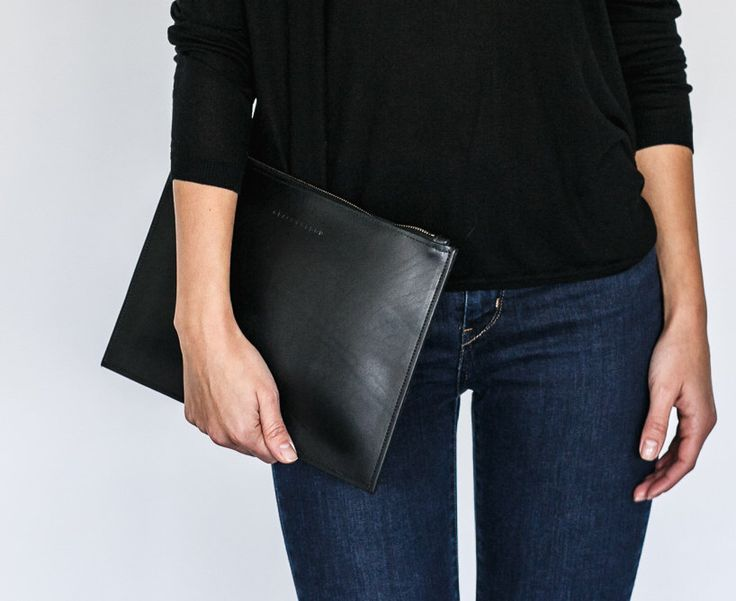 Nelle - Full Grain Real Leather Clutch by GRACEGORDONLDN on Etsy https://www.etsy.com/listing/254900766/nelle-full-grain-real-leather-clutch