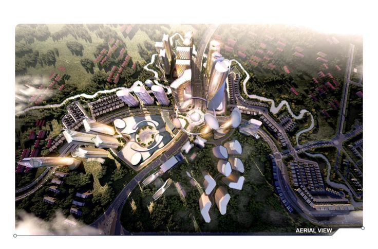 -Metland Cyber City- Proyek komersial di Metland Cyber City ini merupakan gebrakan di kawasan Tangerang yang mengusung konsep cyber terkoneksi antarbangunan