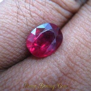 Batu Permata Ruby 2.71 carat untuk Cincin Exclusive