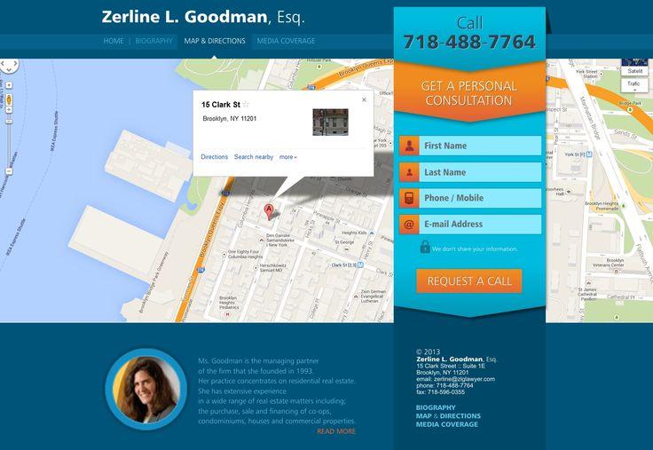 website design (inner page)