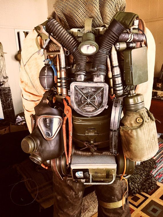 Fallout / Mad Max Post Apocalyptic van thewastelandworkshop op Etsy