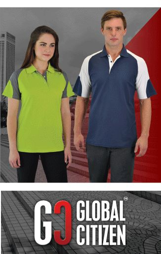 Check out our trendy new #globalcitizen Infinity Polos