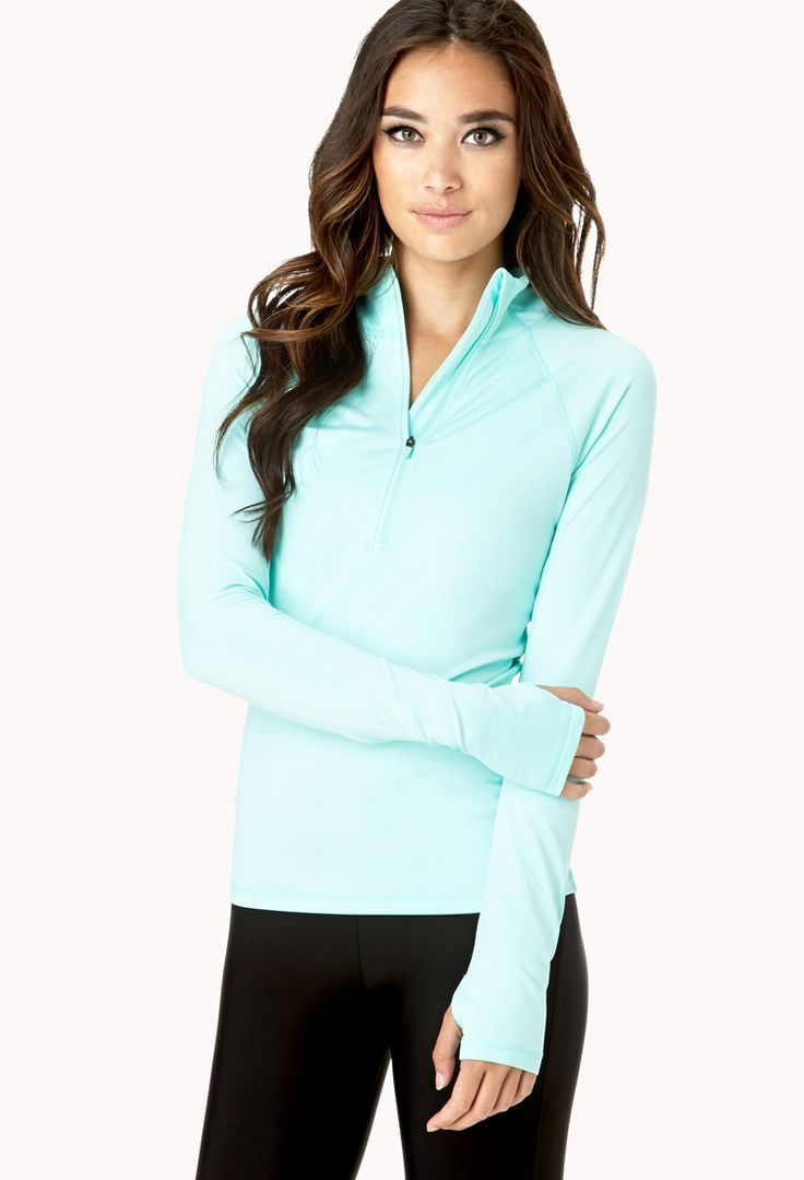 Favorite Running Jacket | FOREVER21 Don't let the chilly weather stop your #Workout #Running Jacket #Active #Exercise