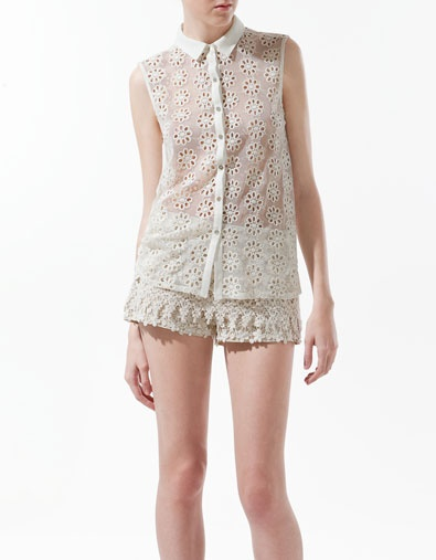 poor girls version of the louis vuitton summer collection. love this top!