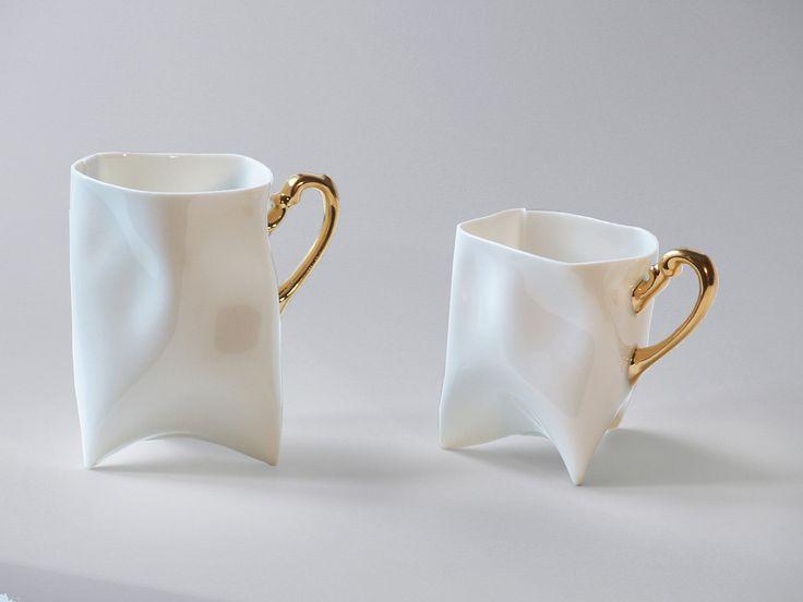 Porcelain cups set. $95.00, via Etsy.