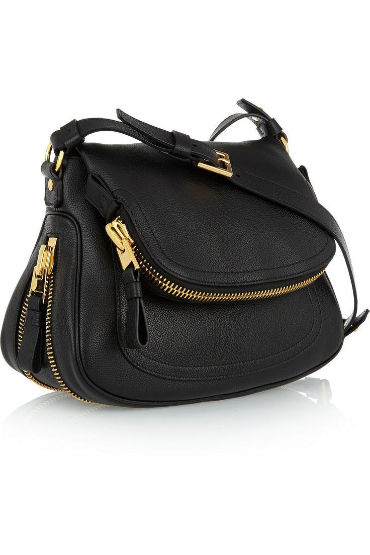 Tom FordJennifer medium textured-leather shoulder bag