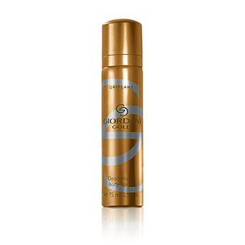 Giordani Gold Deodorising Body Spray kemasan 75ml dengan keharuman khas yang sensual dan lembut untuk  mereka yang anggun. http://ecatalogue.oriflame.co.id/istantripratiwi
