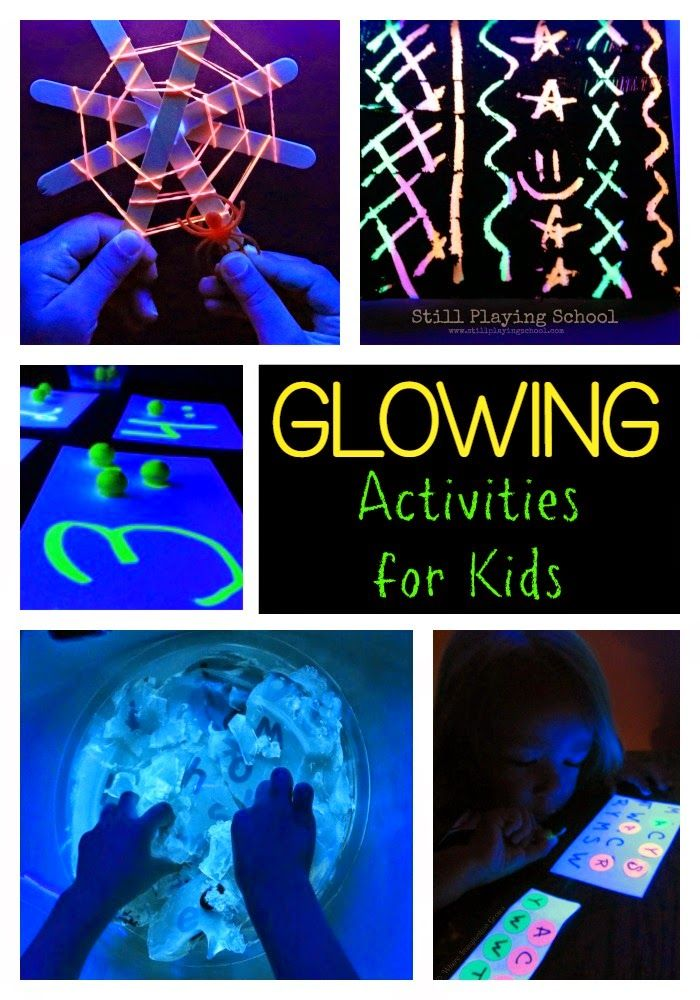 Play & Learn with UV Black Light from Still Playing School