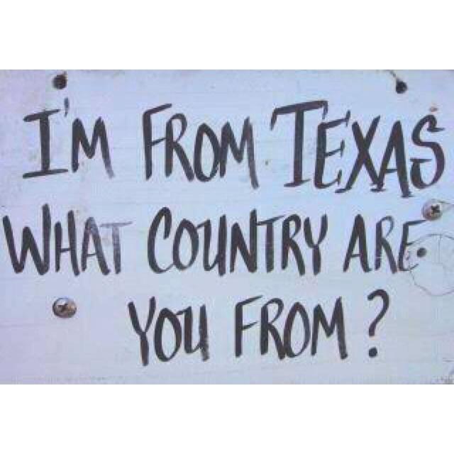 Yes mam: Texas Girl, I M, Things Texas, Bless Texas