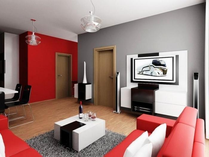 black and red living room.  483 best Kitchen Inspiration images on Pinterest