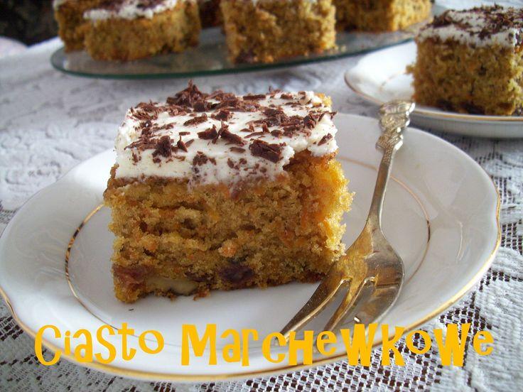 Ciasto marchewkowe z kremem greckim PRZEPIS