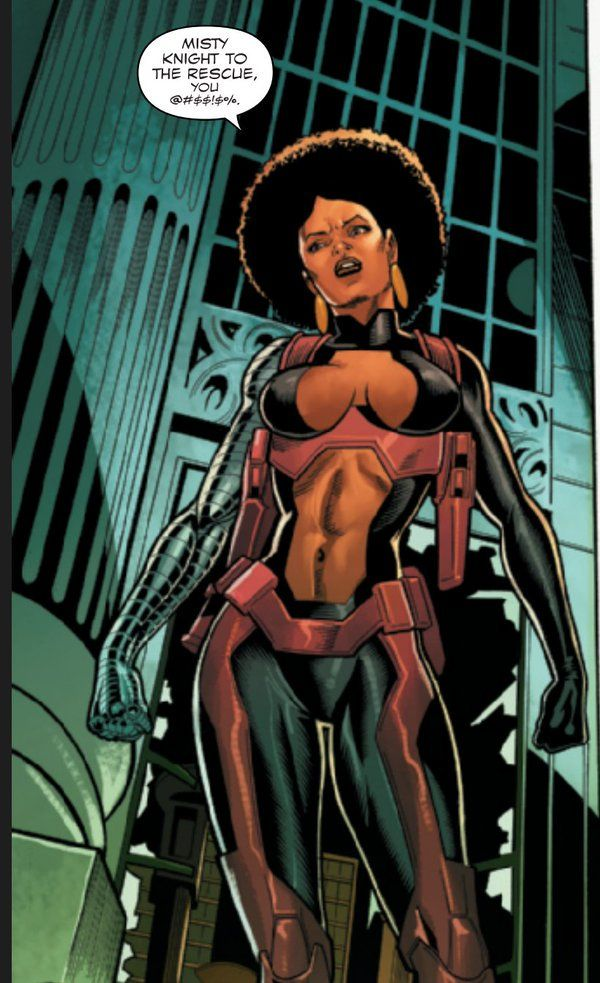Misty Knight and the Case of the Ridiculous Males: Bra Holster Hell