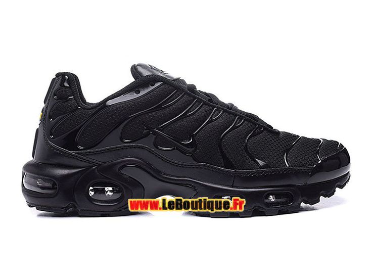 Nike Air Max Tn/Tuned Requin 2016 - Chaussures Nike Sportswear Pas Cher Pour Homme Noir 604133-803