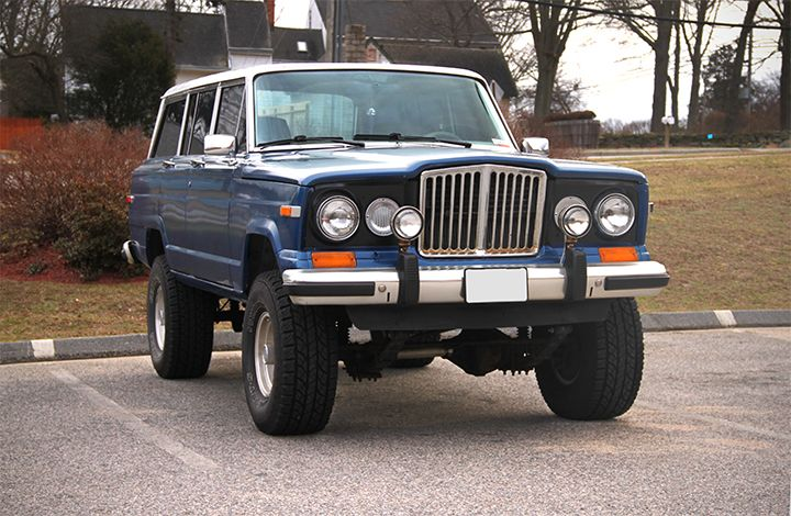 Modded Jeep Grand Wagoneer
