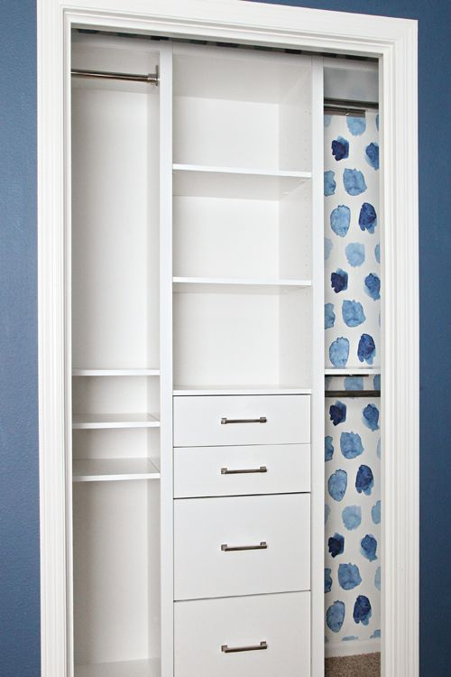 Iheartorganizing SOURCES: Closet System (c/o)   Acrylic Drawer Organizer (c