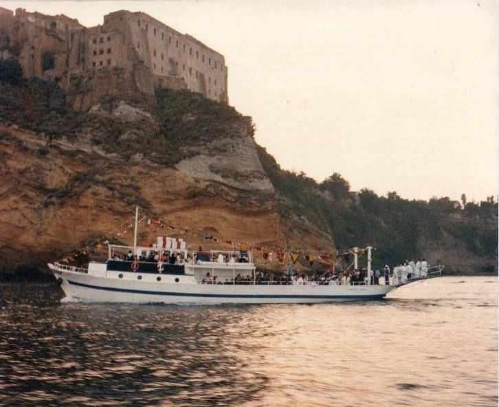 Procida , Aragonese castle